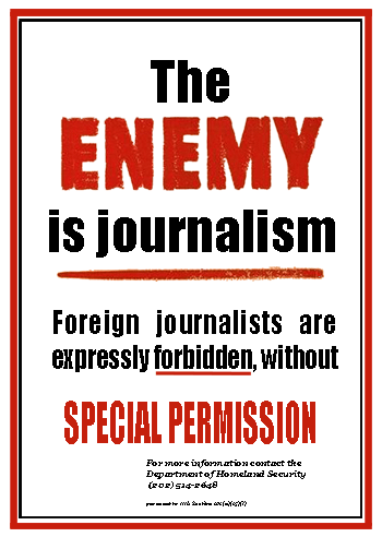 The Enemy is Journalism