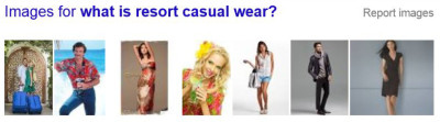 Examples of resort casual