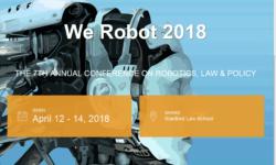 See You at We Robot 2018